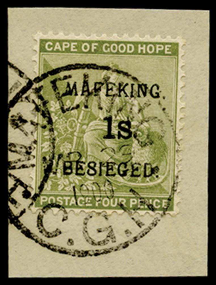 C.G.H. - MAFEKING 1900  SG5 Used