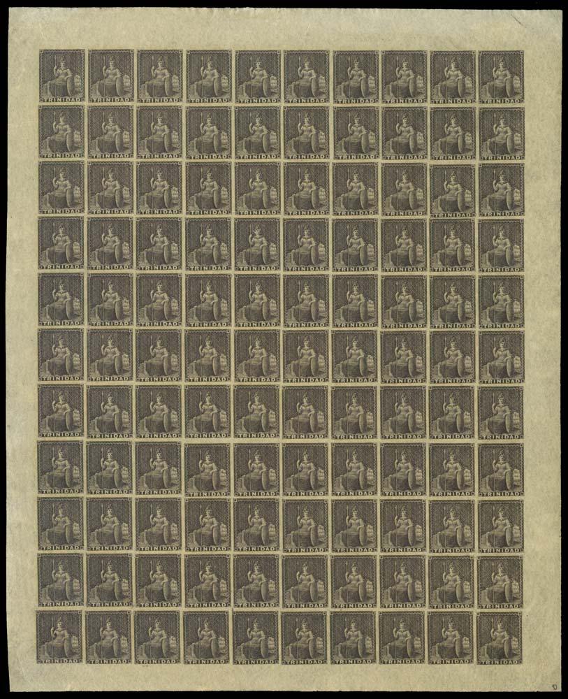 TRINIDAD 1854  SG9 Mint