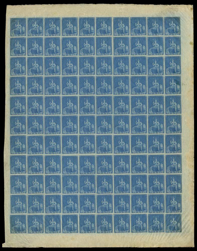 TRINIDAD 1851  SG3 Mint