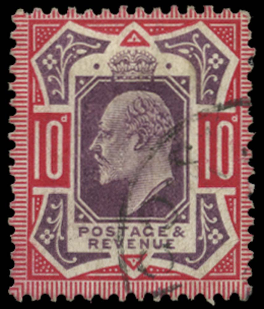 GB 1906  SG255a Used No cross on crown variety