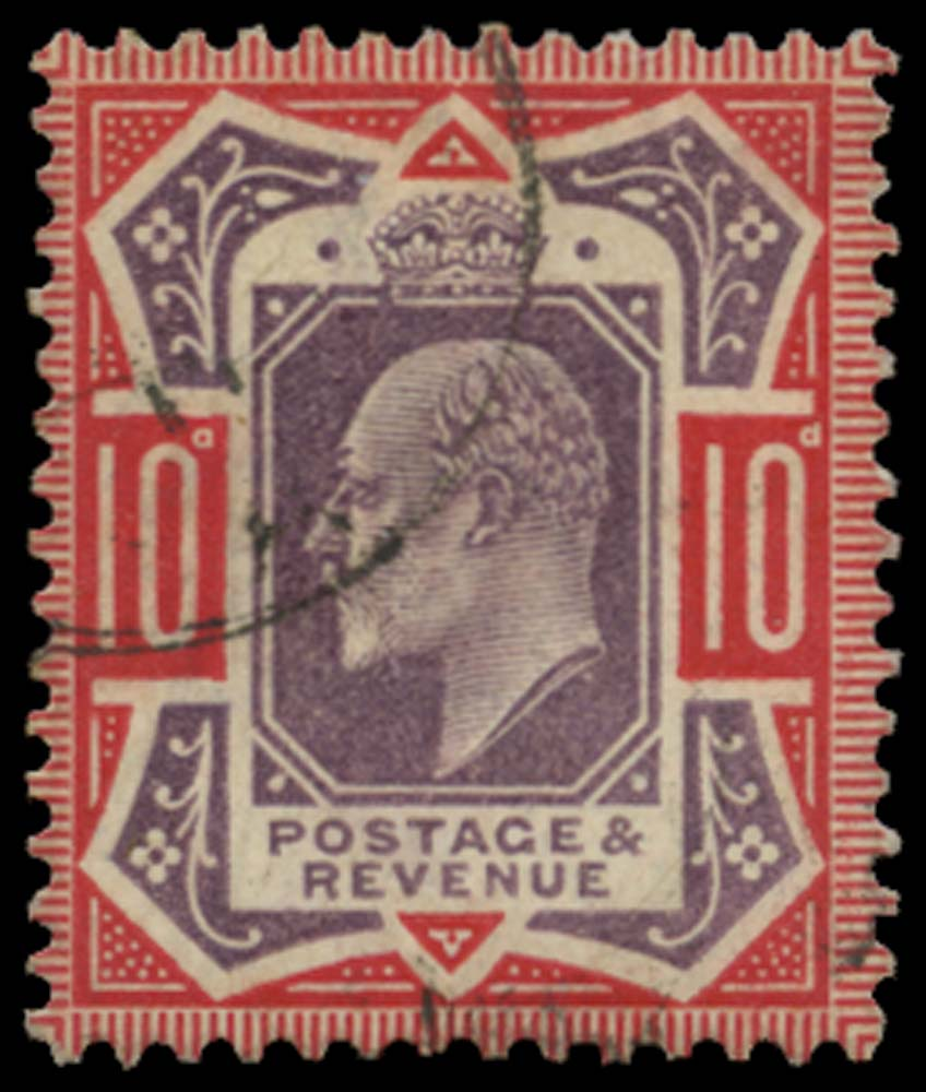 GB 1910  SG256a Used No cross on crown variety