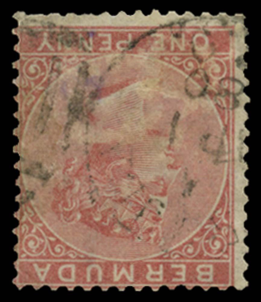 BERMUDA 1865  SG2w Used