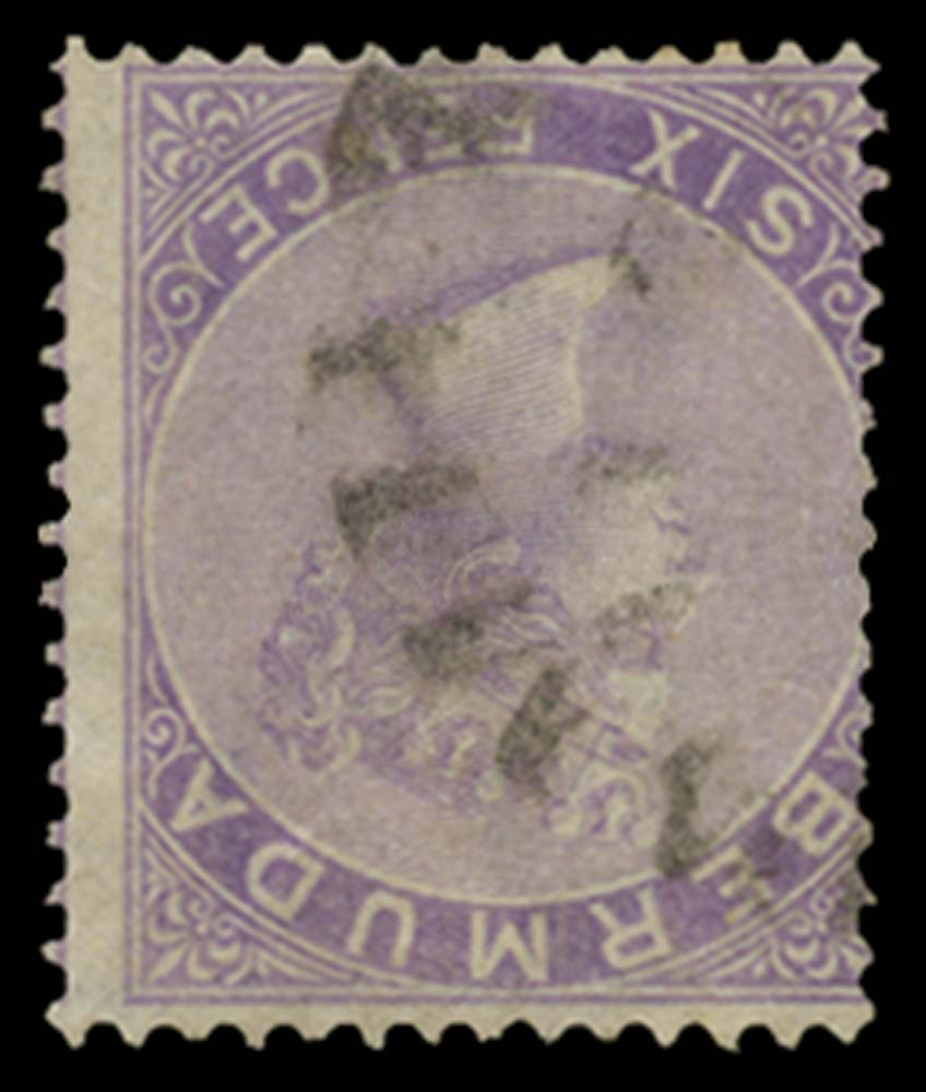 BERMUDA 1865  SG7w Used