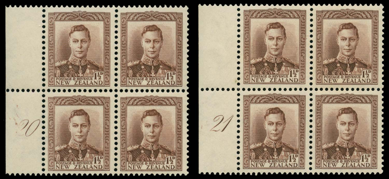 NEW ZEALAND 1938  SG607 Mint