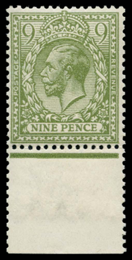 GB 1922  SG393b Mint