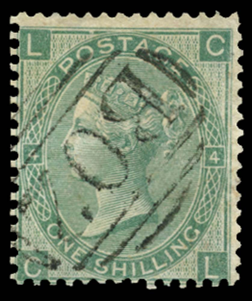 EGYPT 1865  SGZ77 Pl.4 Cancel