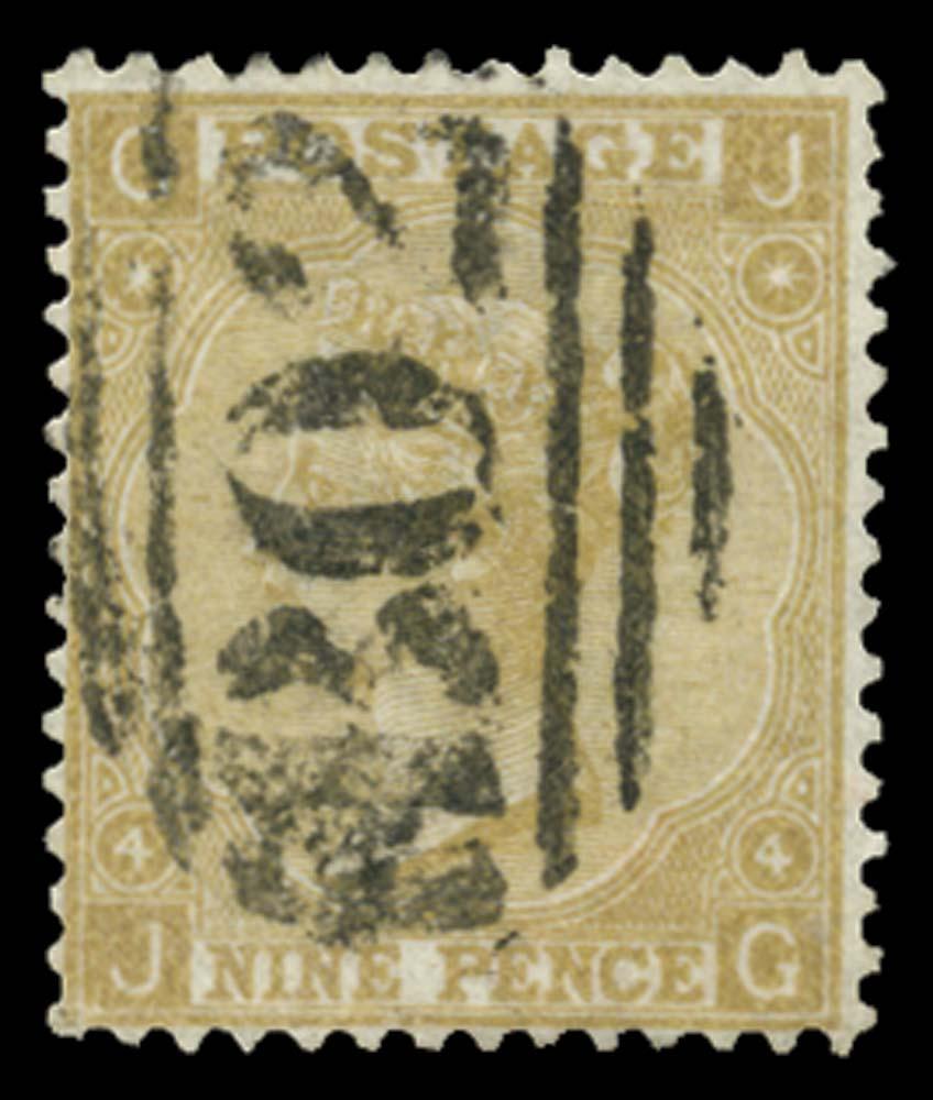 EGYPT 1867  SGZ72 Pl.4 Cancel