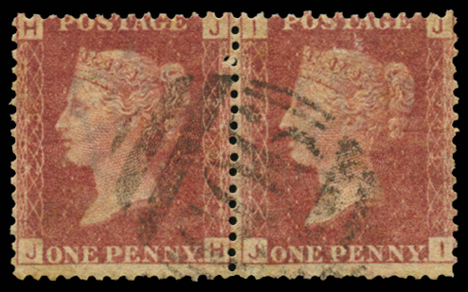 BRITISH LEVANT 1864  SGZ2 Pl.218 Cancel