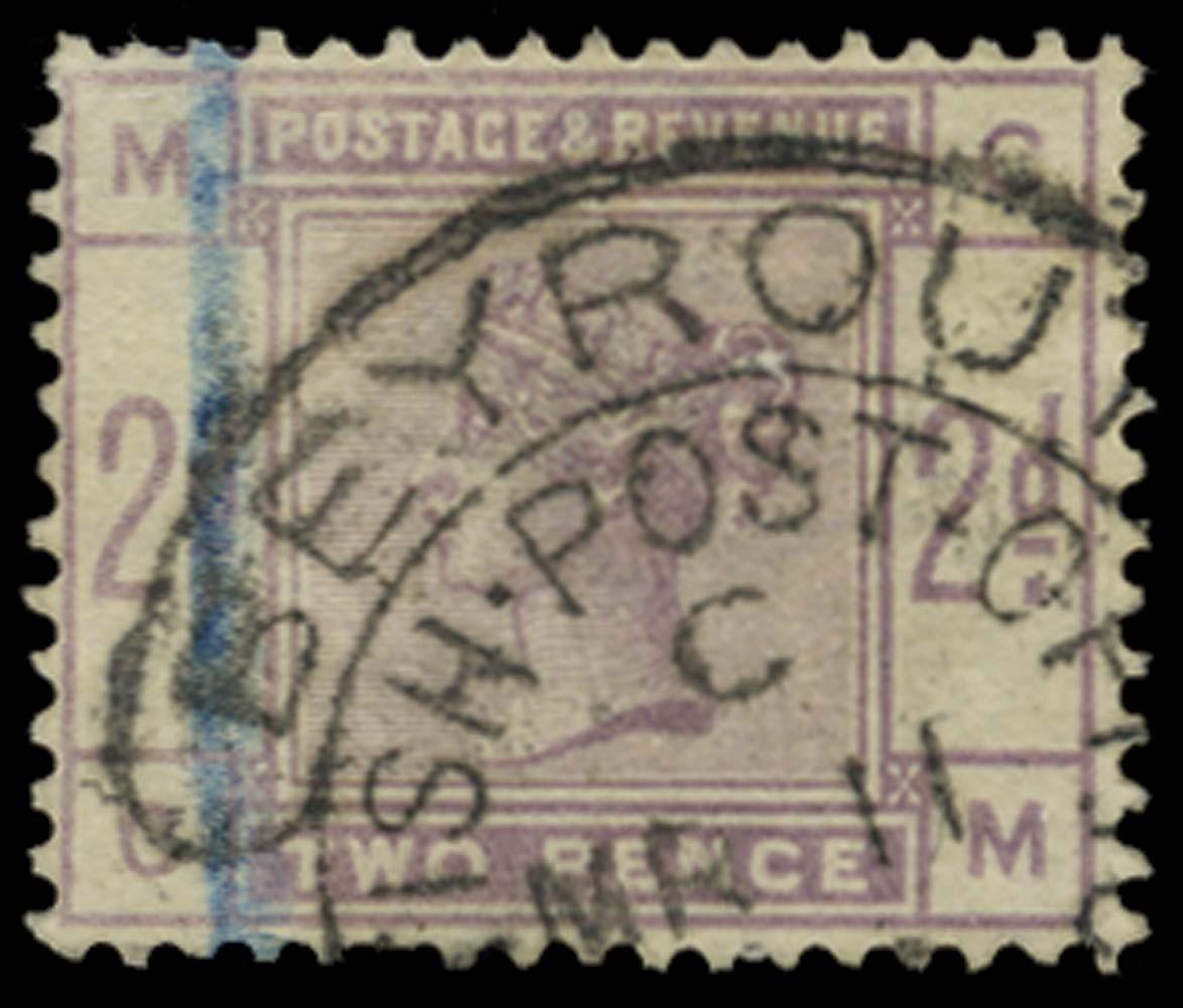 BRITISH LEVANT 1884  SGZ42 Cancel