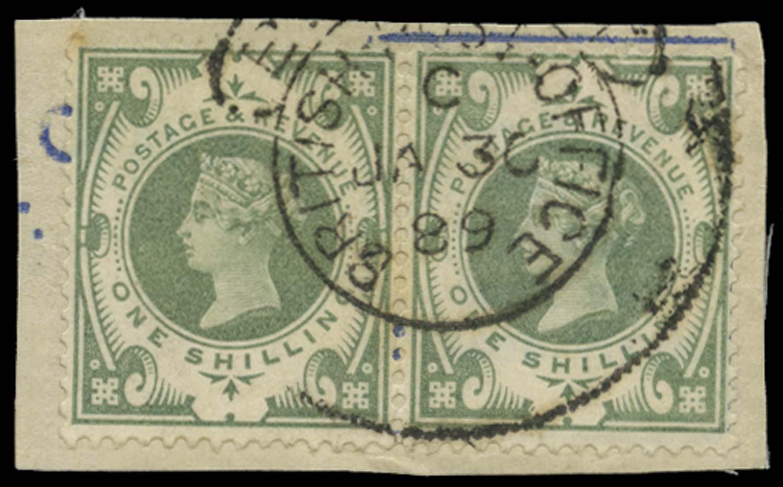 BRITISH LEVANT 1887  SGZ55 Cancel