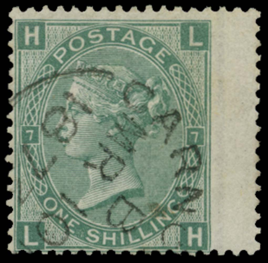 GB 1873  SG117 Pl.7 Used