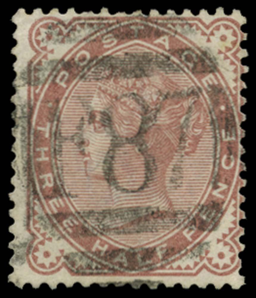 BRITISH LEVANT 1880  SGZ245 Cancel
