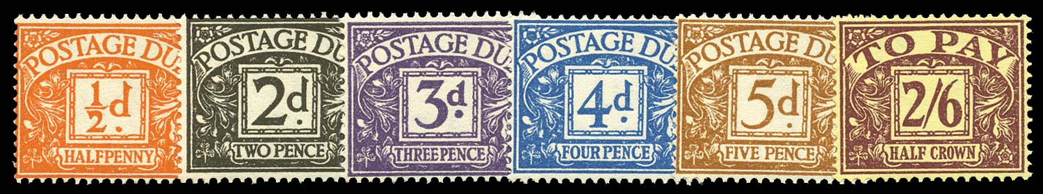 GB 1954-55  SGD40/5 Postage Due