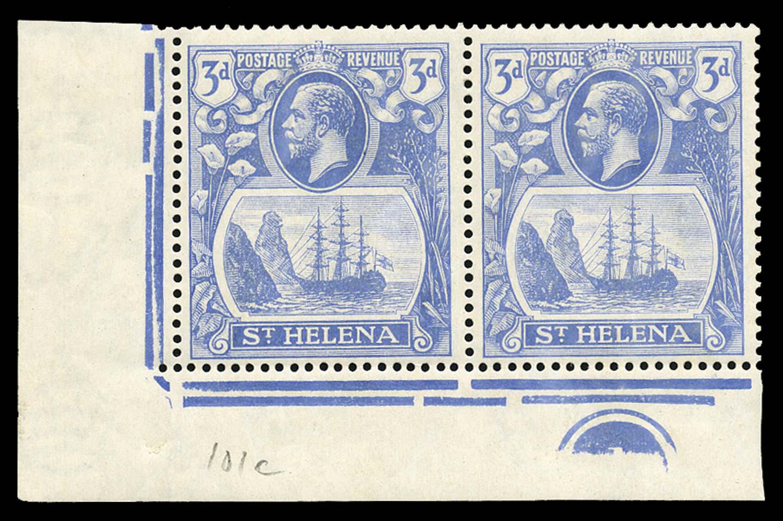ST HELENA 1922  SG100/c Mint