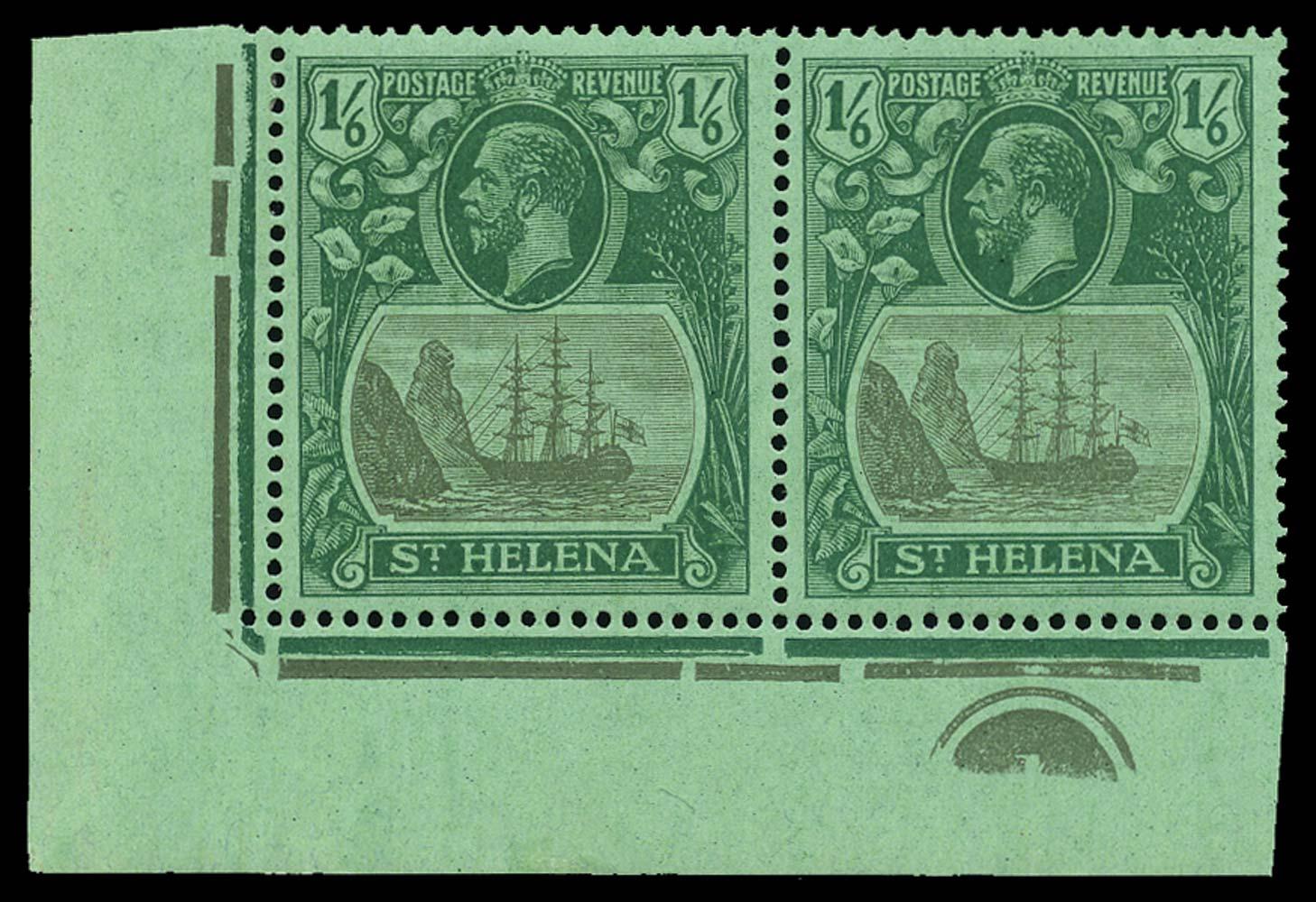 ST HELENA 1922  SG107/c Mint