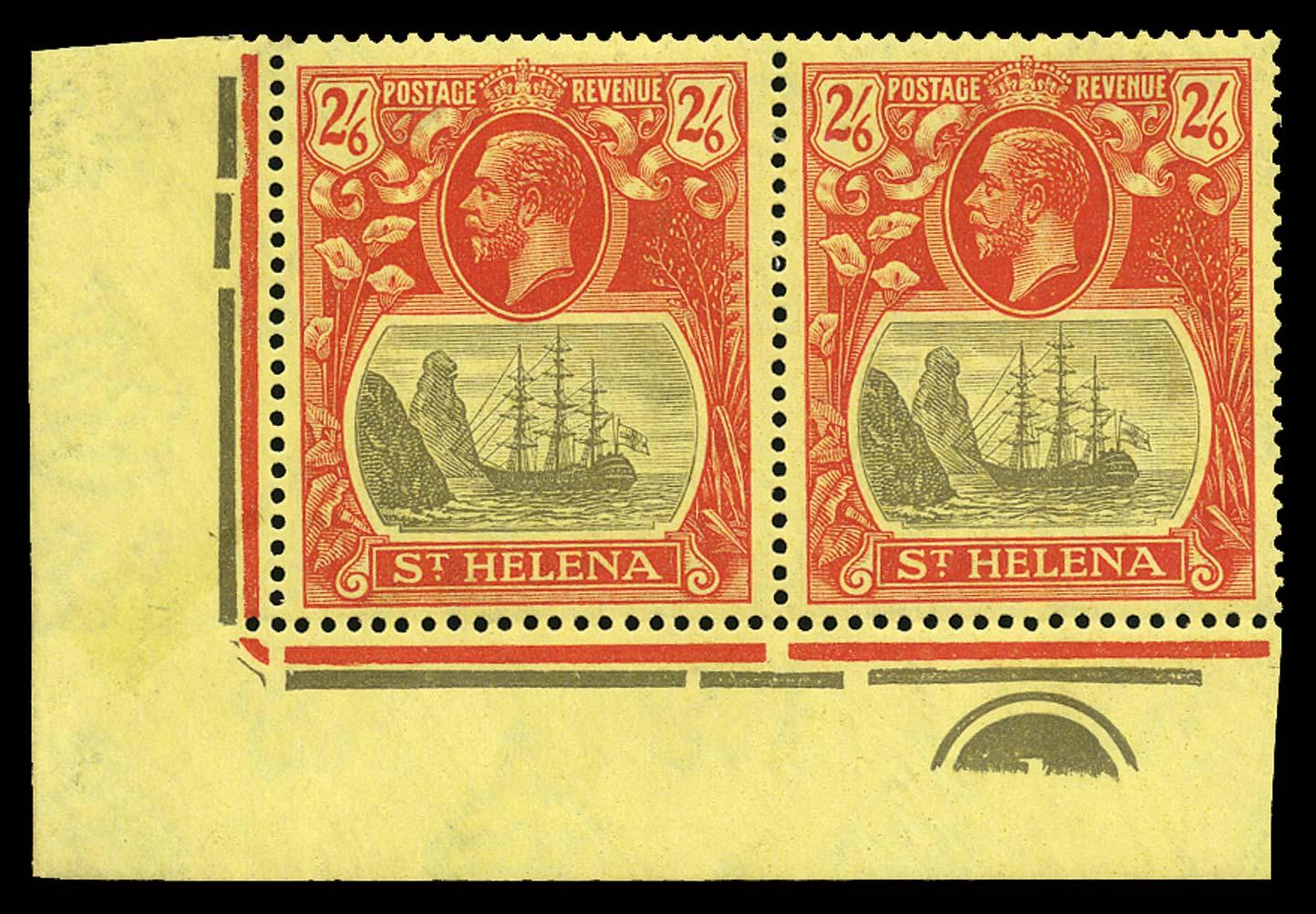 ST HELENA 1922  SG109/c Mint