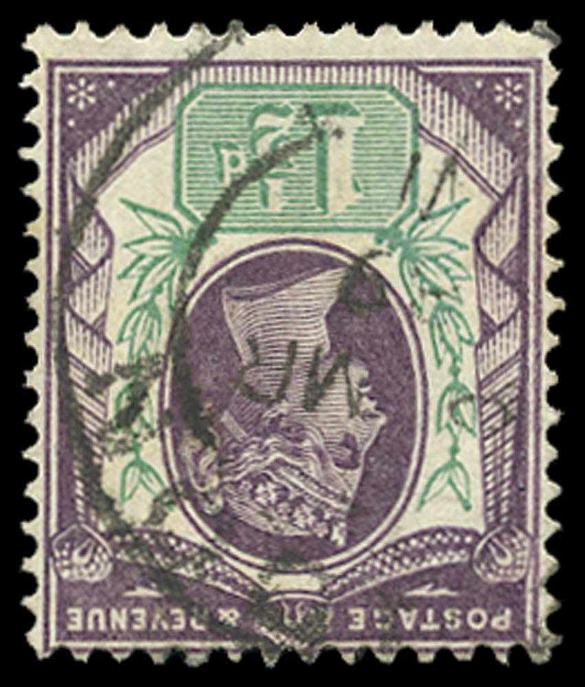 GB 1887  SG198wi Used