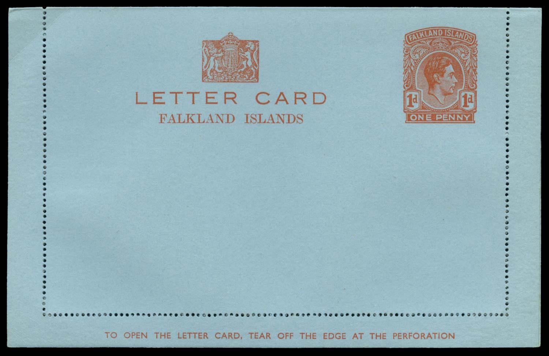 FALKLAND ISLANDS 1938 Cover