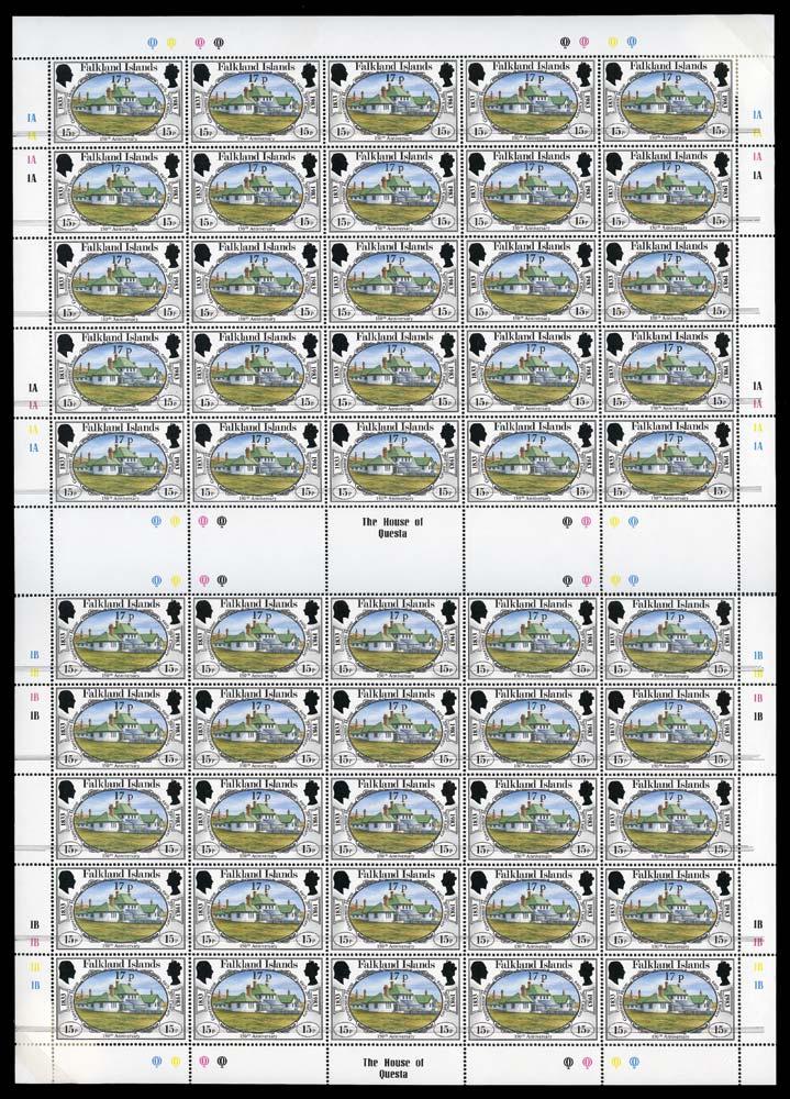 FALKLAND ISLANDS 1984  SG467/a Mint