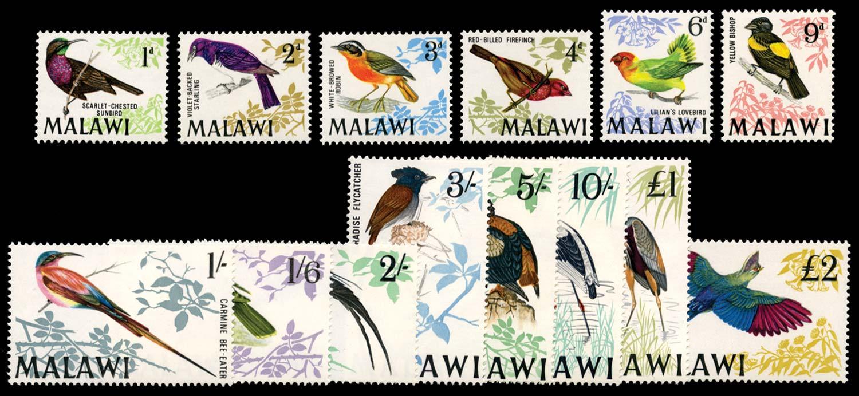 MALAWI 1968  SG310/23 Mint
