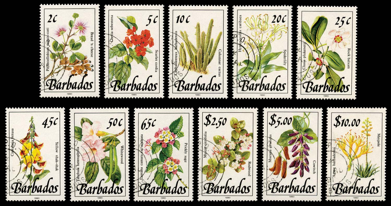 BARBADOS 1990  SG921/36 Mint