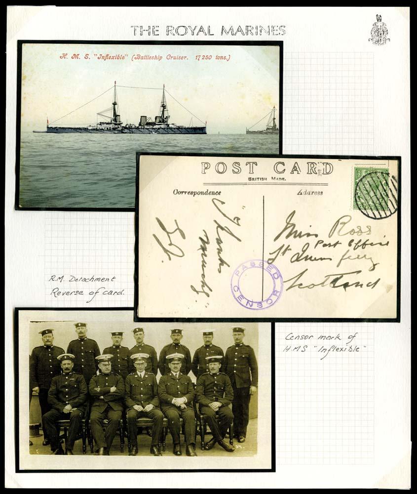 GB c.1916  SG351 Cover