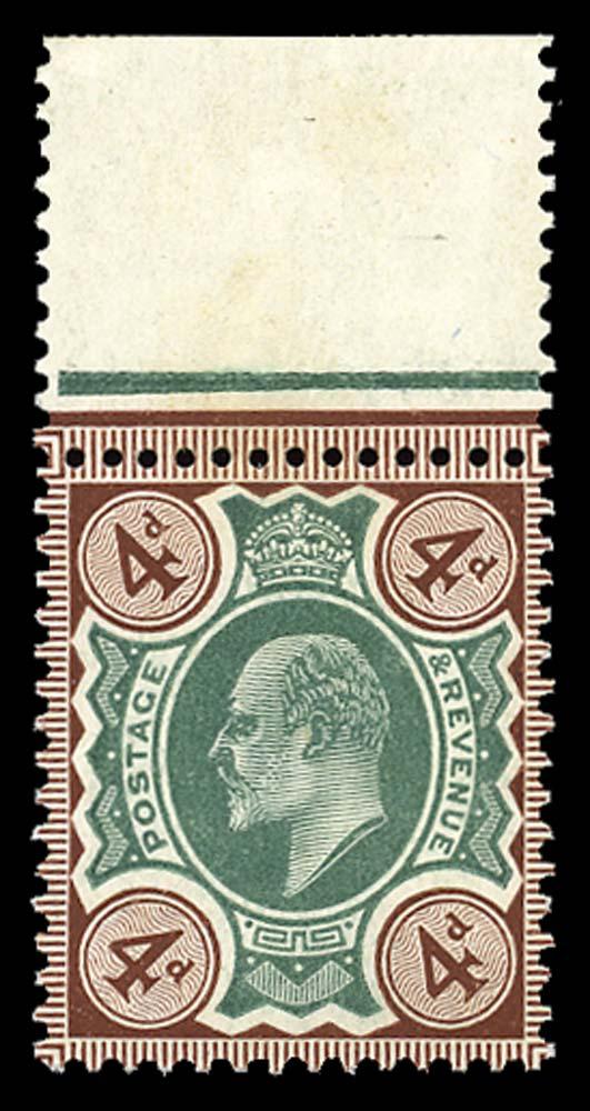 GB 1906  SG238 Mint