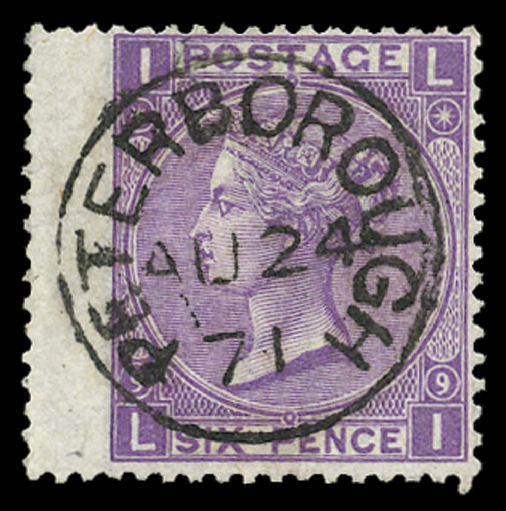 GB 1870  SG109 Pl.9 Used