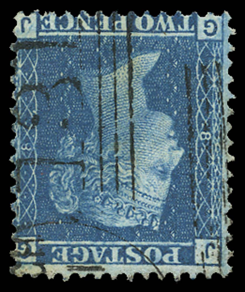 GB 1858  SG45wi Pl.8 Mint