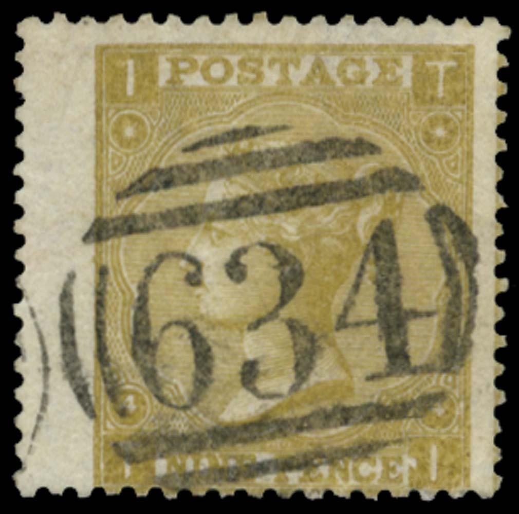 GB 1865  SG98 Used Ramsgate