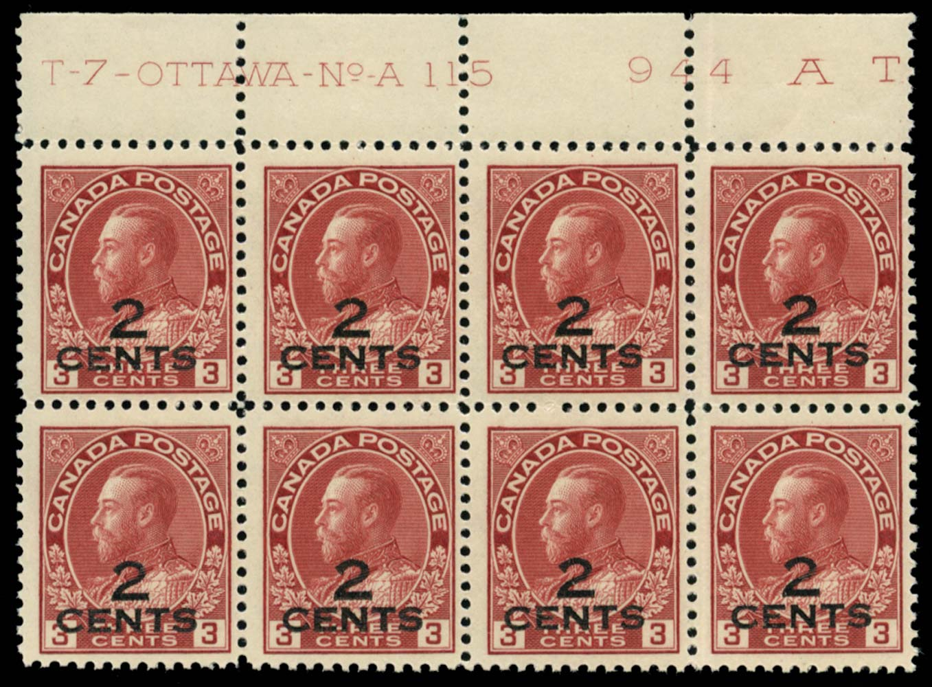 CANADA 1926  SG265 Mint