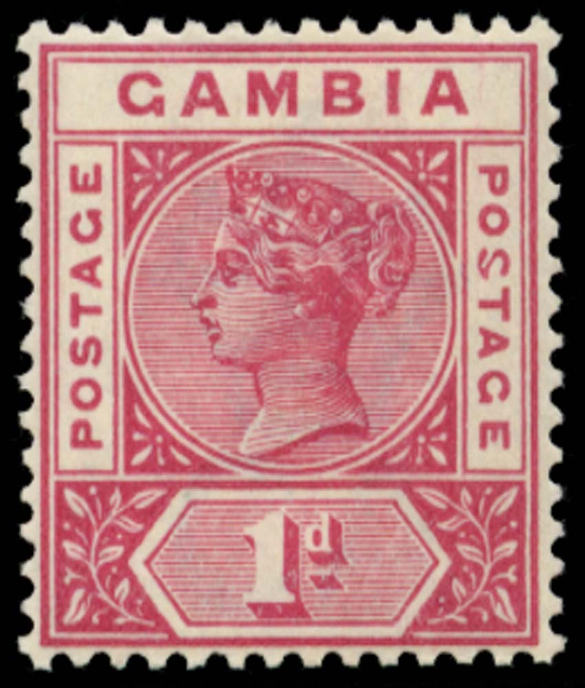 GAMBIA 1898  SG38a Mint