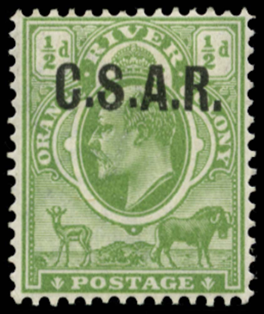 ORANGE FREE STATE 1905  SGRO1 Official