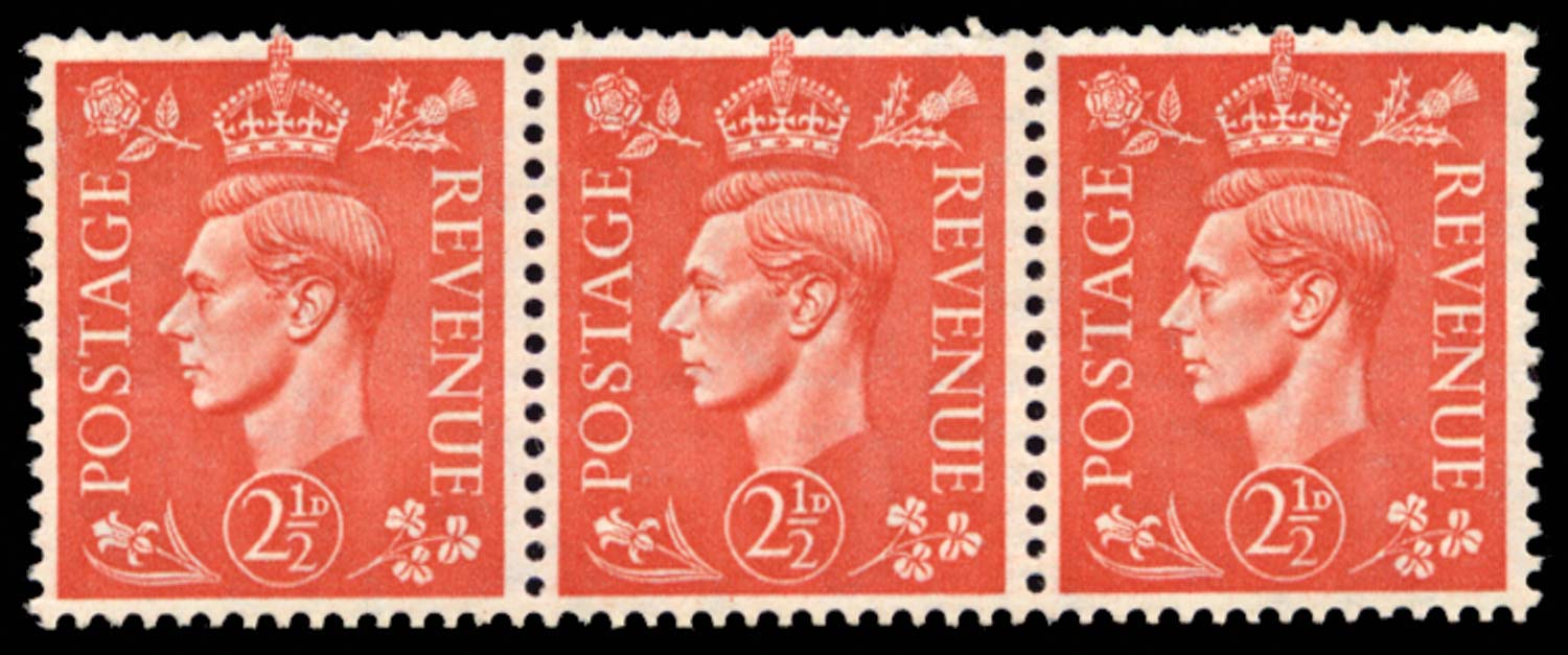 GB 1951  SG507aVar Mint Damaged