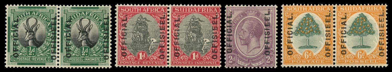SOUTH AFRICA 1926  SGO1/4 Official