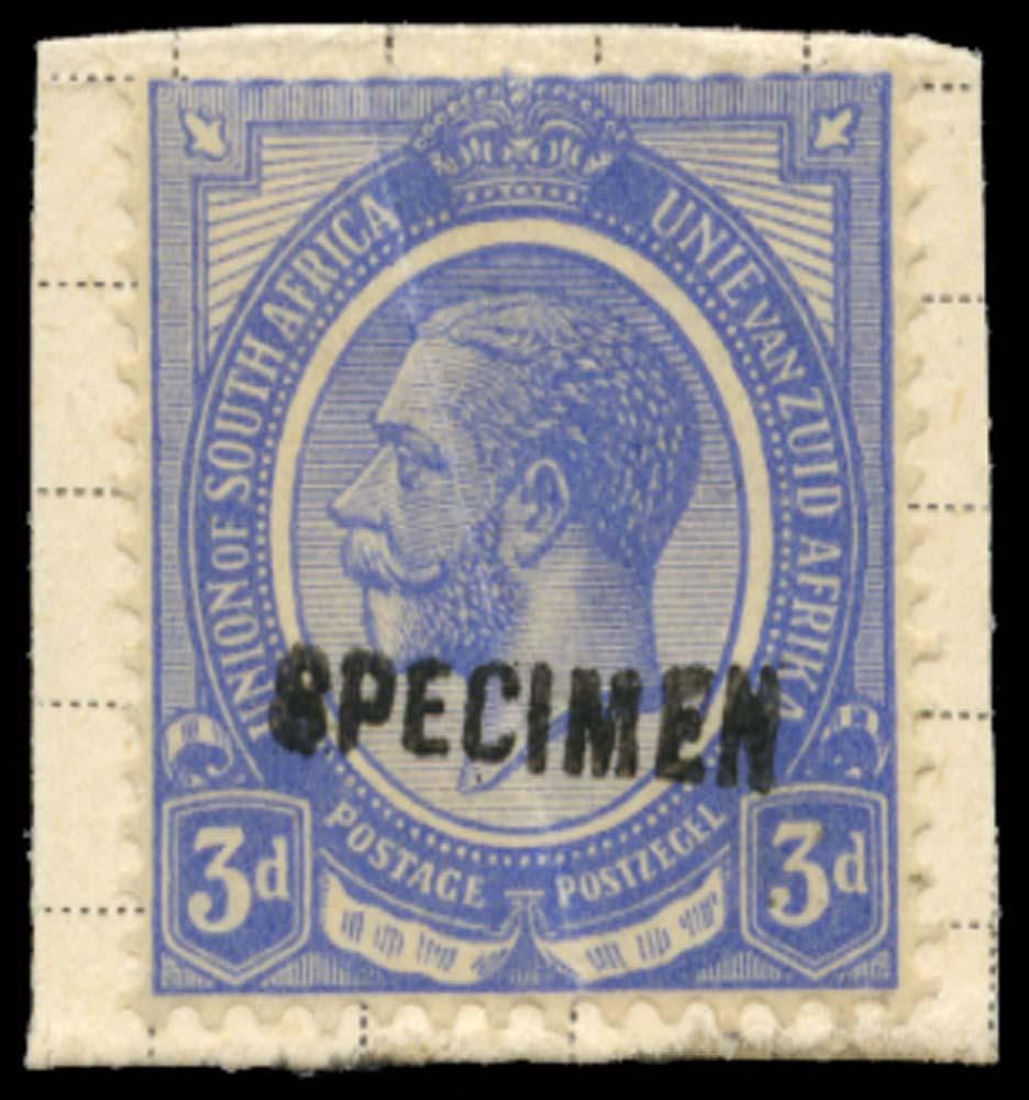 SOUTH AFRICA 1914-24  SG9 Specimen
