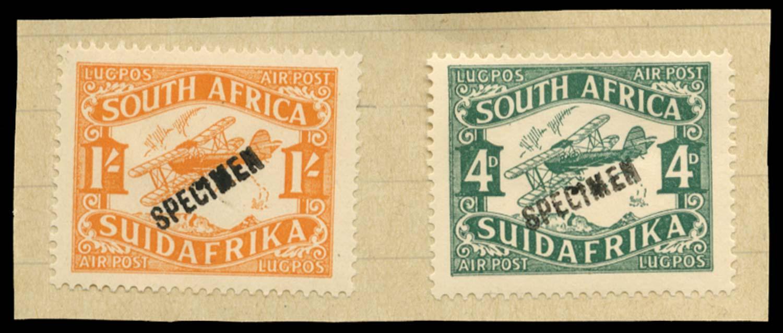 SOUTH AFRICA 1929  SG40/1 Specimen