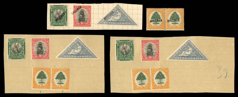 SOUTH AFRICA 1926-27  SG30/3 Specimen