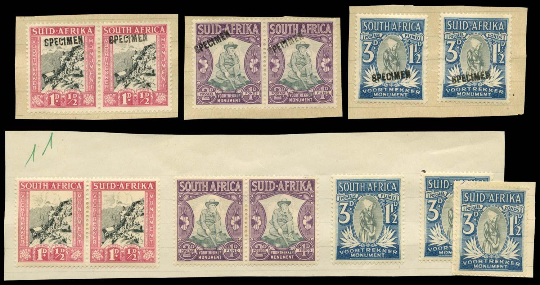 SOUTH AFRICA 1933(-36)  SG51/3 Specimen