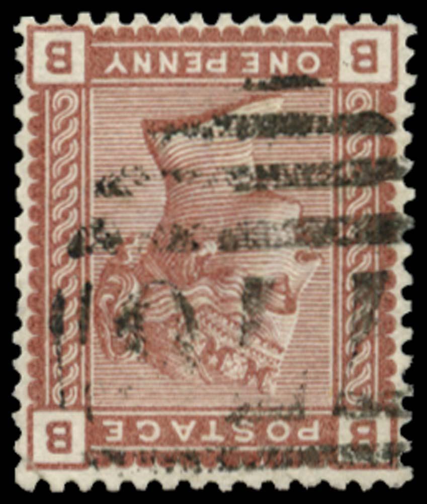 GB 1880  SG166wi Used - Watermark Inverted