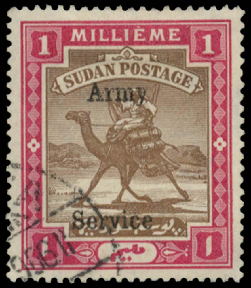 SUDAN 1906  SGA5 Official