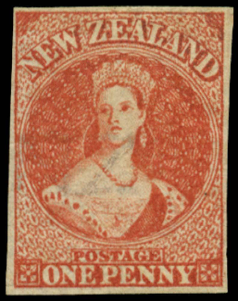 NEW ZEALAND 1864  SG97 Mint