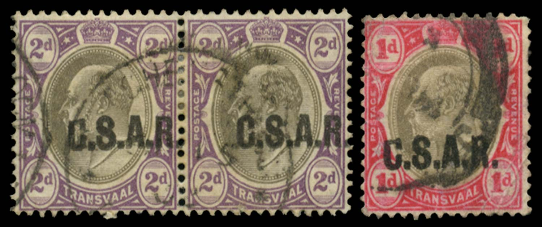 TRANSVAAL 1905  SGRO5/var Official