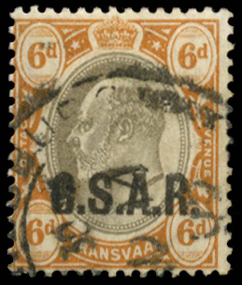 TRANSVAAL 1905  SGRO8var Official