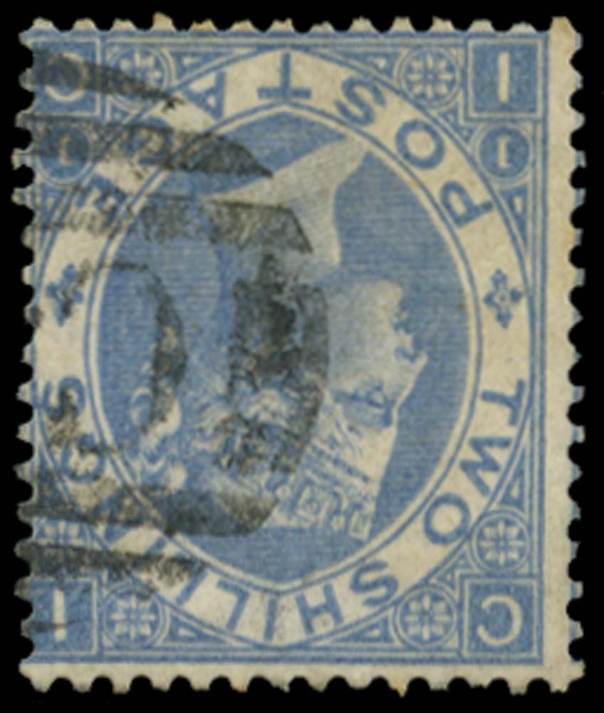 GB 1867  SG118wi Pl.1 Used - Watermark Inverted