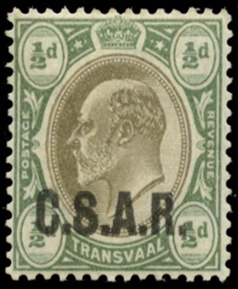 TRANSVAAL 1905  SGRO10 Official