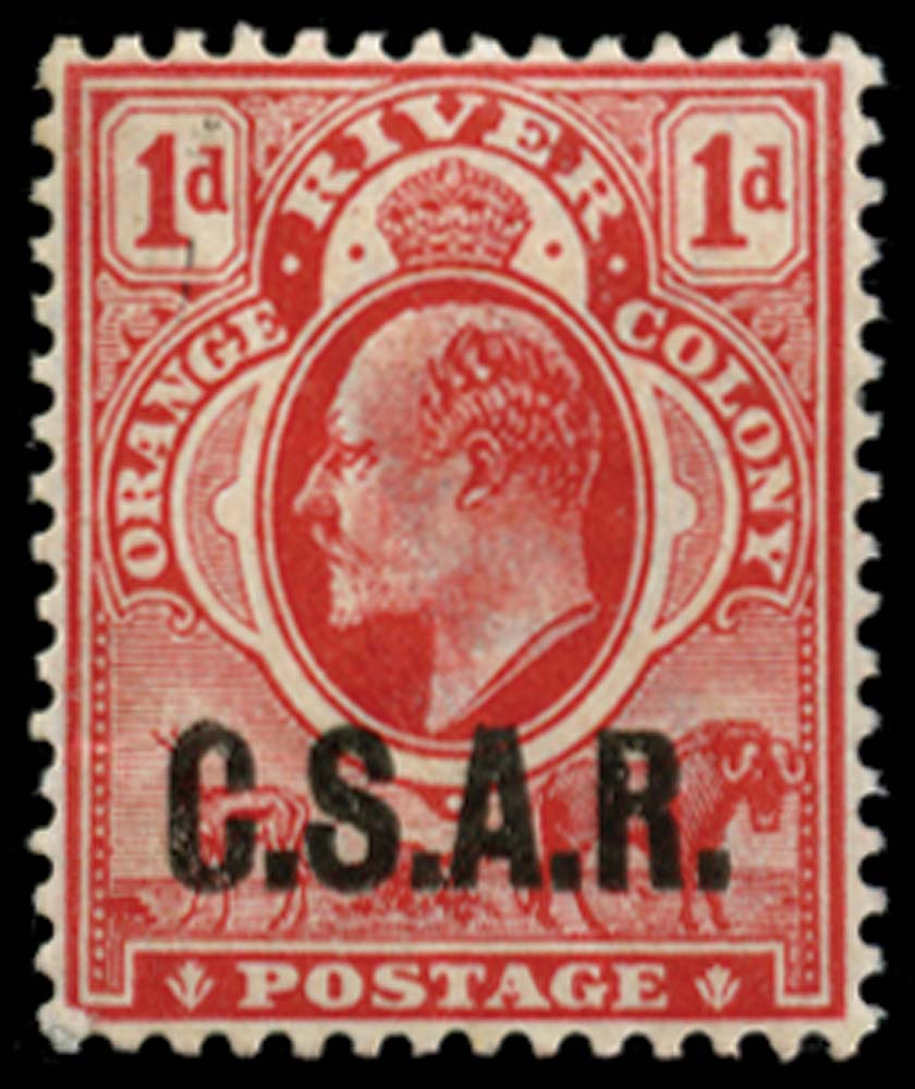 ORANGE FREE STATE 1905  SGRO2 Official