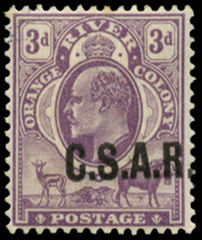 ORANGE FREE STATE 1905  SGRO4 Official