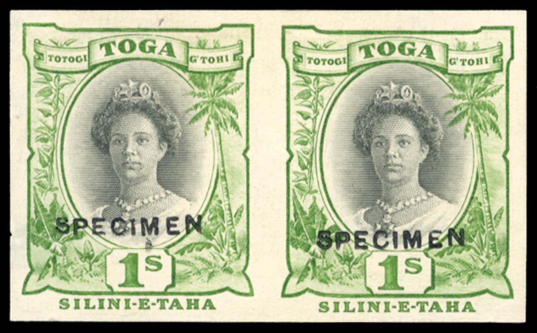 TONGA 1922(c)  SG63 Proof