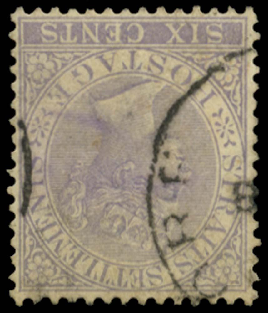 MALAYA - STRAITS 1883  SG66w Used
